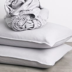 Belgian Linen Pumice Pillowcases (set of 2)