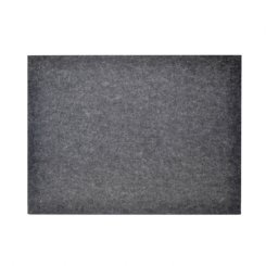 Rectangle Pin Board - Charcoal