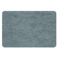 curved rectangle pinboard - cadet