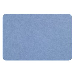 curved rectangle pin board - cornflower blue