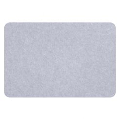 curved rectangle pin board - periwinkle