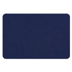 curved rectangle pin board - royal blue