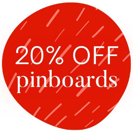 pin board sale