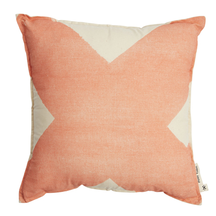 X Cushion - Salmon