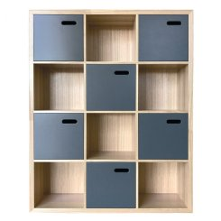 scoop bookcase large - colour options
