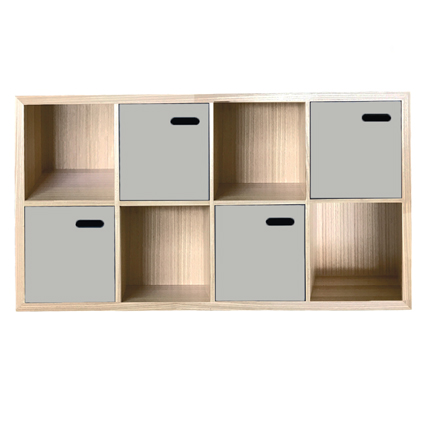 scoop bookcase horizontal - colour options