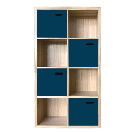 scoop bookcase small - colour options