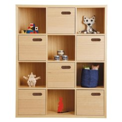 scoop bookcase large