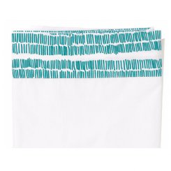 Seagrass Flat Sheet - Teal - Seconds