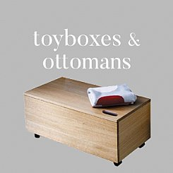 toy boxes & ottomans