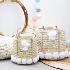 Sonny Baskets - White