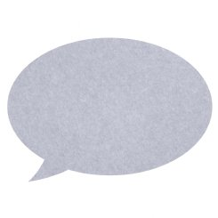pinboard speech bubble - periwinkle