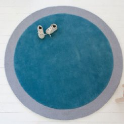 Little P Spot On Cloudy Sky Rug - SECONDS