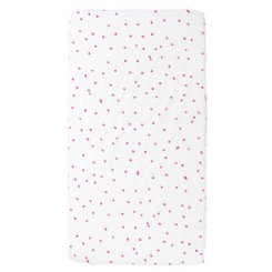 Sprinkle Sprinkle Fitted Sheet Fluro Pink - COT