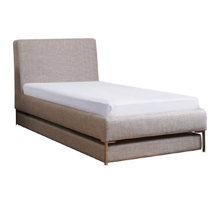 upholstered bed double