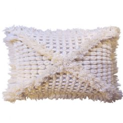 Vovo Cushion - Cream Rectangle