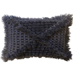 Vovo Cushion - Charcoal Rectangle