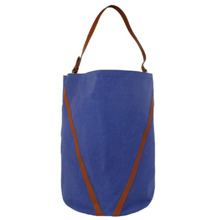double strap storage - blue